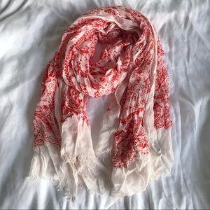 BCBG paisley scarf